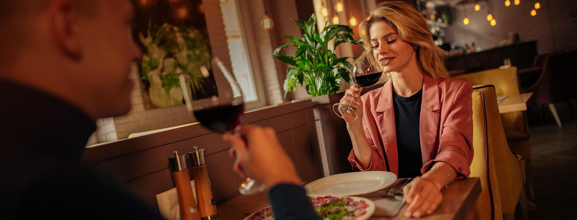 Фото - Ужин в итальянском ресторане