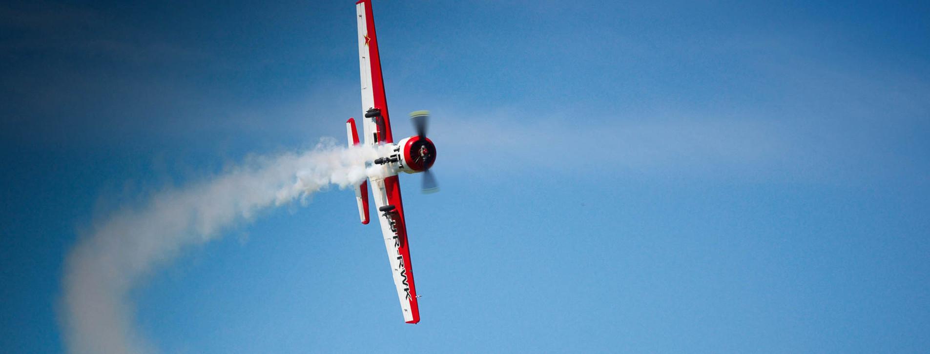 Фото - Фигуры высшего пилотажа на ЯК-52